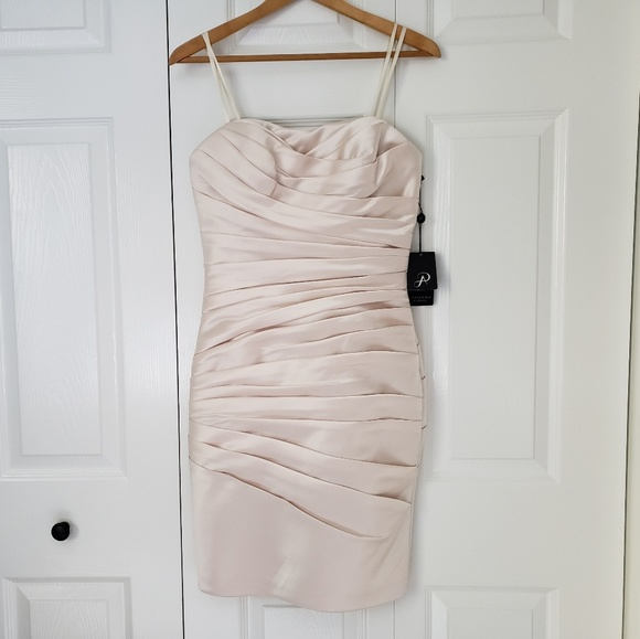 Adrianna Papell Dresses & Skirts - NWT Adrianna Papell Cocktail Strapless Satin Dress